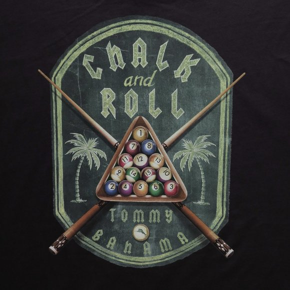 NWT Tommy Bahama Men/'s S//S Chalk And Roll Graphic T Shirt Size XL MSRP $49.50
